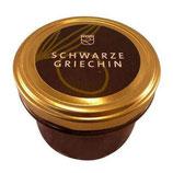 """""""Schwarze Griechin"""", Oliven-Pesto, Essendorfer Genußschmelzerei, 230 ml"""