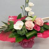 Bouquet structuré Tendance Rose