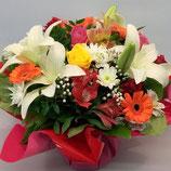 Bouquet rond Tendance Multicolore