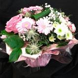 Bouquet rond Tendance Pastel