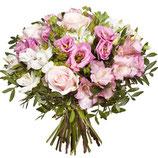 Bouquet rond Tendance Rose