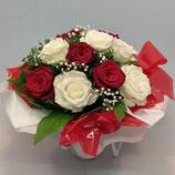 Bouquet rond Tendance Bicolore
