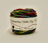 Kinderportion-Wolle  Multicolour Regenbogen