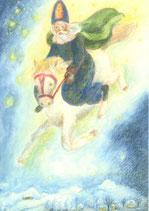 "Kinderpostkarte ""Sankt Nikolaus"" IB"