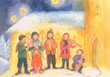 "Kinderpostkarte ""Klingender Advent"""
