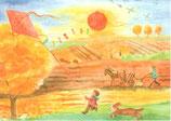 """Kinderpostkarte """"Herbst"""" D. Schmidt"""