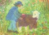 """Kinderpostkarte """"Der gute Hirte"""""""