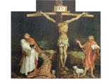 "Postkarte ""Kreuzigung Christi des Isenheimer Alters"""