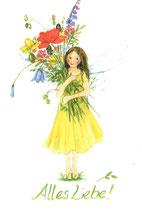 "Kinderkarte ""Alles Liebe"""