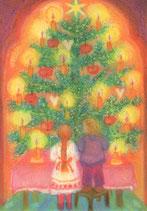 """Kinderpostkarte """"Weihnachtsbaum"""""""