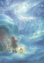 """Kinderpostkarte """"Winterlicht"""""""