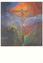 """Postkarte """"Kreuzigung"""""""