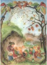 "Kinderkarte ""Wurzelkinder Herbst"""