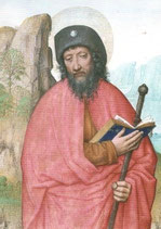 "Postkarte ""Heilige Jakobus"""