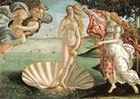 "Postkarte  ""Die Geburt der Venus"""