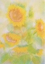 "Postkarte ""Sonnenblumen"" JdK"