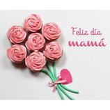 Caja Rose Cupcake