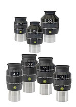 Explore Scientific 82° Okulare in den Brennweiten 30mm, 24mm, 18mm, 14mm, 11mm, 6,7mm, 4,7mm