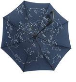 Schirm groß mit Sternkarte innen