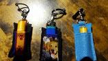 Schlüsselanhänger mit Lippenfettstift oder Feuerzeug