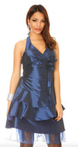 Robe de soirée bleu marine Mod2