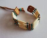 Bracelet perles indiennes