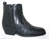 Bottes double zip ankle