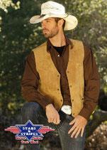 Gilet cowboy western Alabama