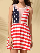 Robe drapeau usa