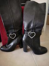 Tour de  bottes coeur