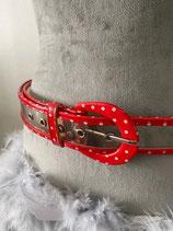 ceinture vintagen à pois