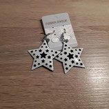 Boucle-d'-oreilles-étoiles