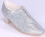 Chaussure de danse Topline Dance Shoe Silver Lurex