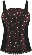 "Corset de la Marque CRIMINAL DAMAGE ""Forest"""