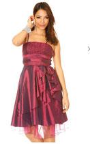 Robe de soirée prune Mod1