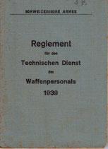 Reglement für den Technischen Dienst des Waffenpersonals