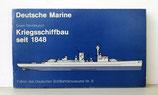 Kriegsschiffbau seit 1848