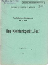 "Das Kleinfunkgerät ""Fox"""