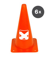 PACIFIC  X Cone  -  6er Pack