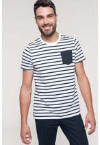 Camiseta Náutica Hombre con bolsillo