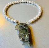 Perlenkette Labrador