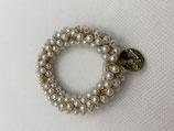 Haargummi Perlen fein
