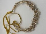 Haarband fest, Perlen & Glitzer