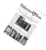 Hubertus Bote im Jahresabonnement - Heimatzeitung mit amtlichen Mitteilungen