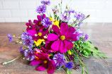 Bonquet champêtre, fleurs de saison