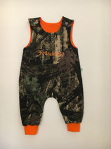 Strampler Realtree Frischling orange