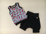 Set Shirt & Shorts Rennauto Gr. 74/80