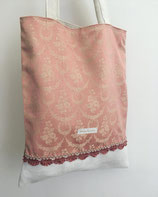 Biedermeier-Tasche (rosa)