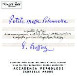 Petite Messe Solennelle (Gioacchino Rossini)