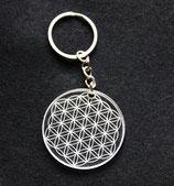 Porte clés fleur de vie